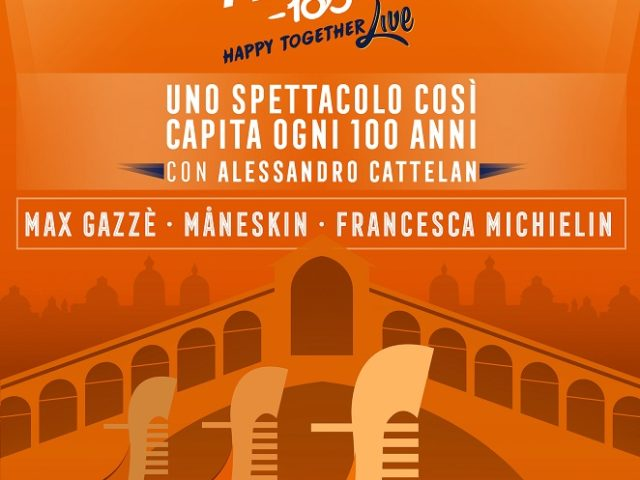 Max Gazzè, Maneskin e Michielin a Aperol Happy Toghether
