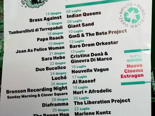 Il festival estivo bolognese Botanique dal 14 Giugno: da Joan as Police Woman ai Diaframma, dai Marlene Kuntz ai Lino e i Mistoterital
