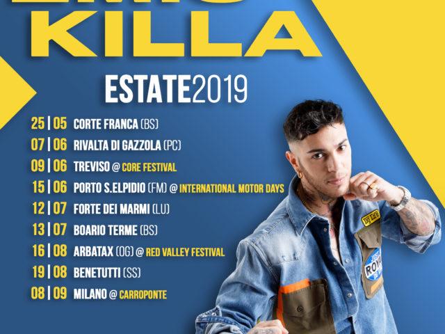 Continua il tour estivo di Emis Killa