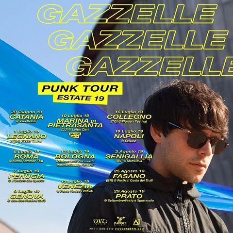 Gazzelle, nuove date per il Punk Tour