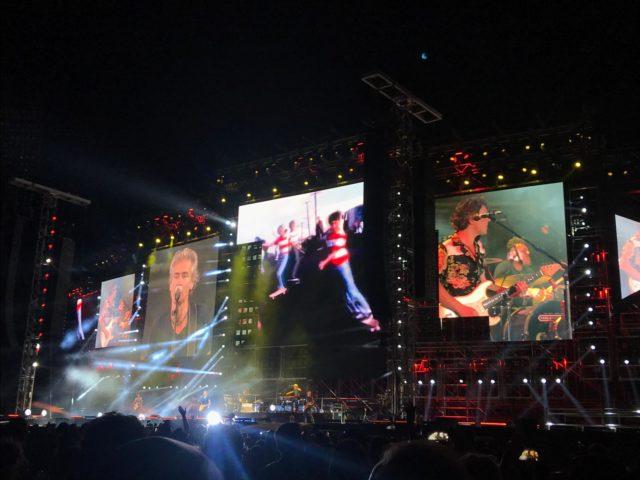 Che caldo allo stadio fiorentino per il concerto di Luciano Ligabue