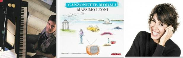 Giorgia e Susanna Stivali ospiti dell'esordio discografico del giornalista Massimo Leoni, cd edito da AlfaMusic