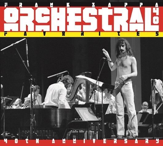 Frank Zappa, nuova edizione per Orchestral Favorites