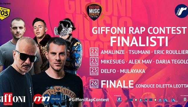 GiffoniRapContest, ecco gli 8 finalisti