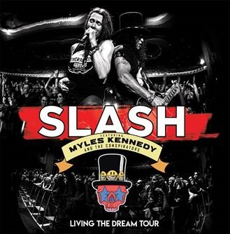 Slash, il 20 settembre esce Living The Dream Tour