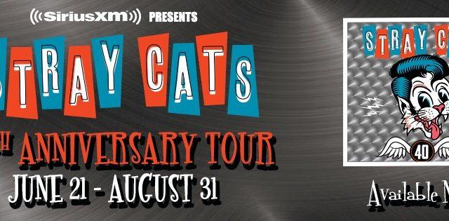 I primi 40 anni degli Stray Cats celebrati anche dalla Gretsch