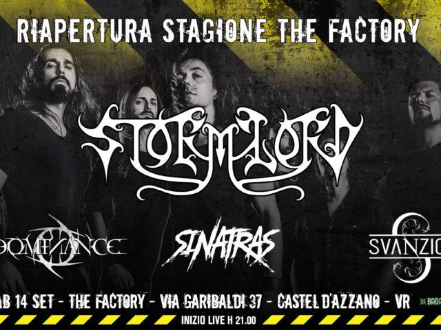 Il veronese The Factory riapre con il metal degli storici Stormlord