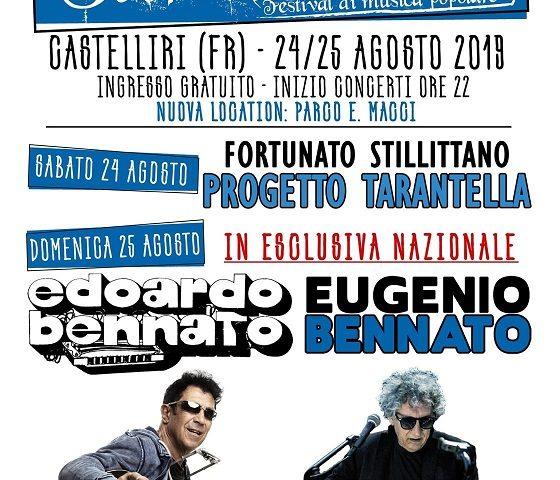 Edoardo ed Eugenio Bennato alla IX edizione di Tarantelliri
