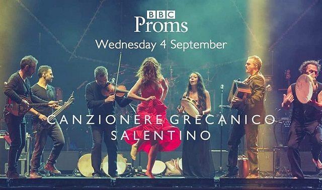 Il Canzoniere Grecanico Salentino alla Royal Albert Hall di Londra