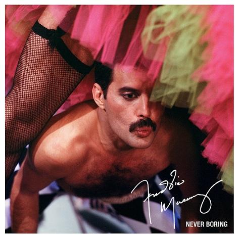 Freddie Mercury, Never Boring l'antologia definitiva