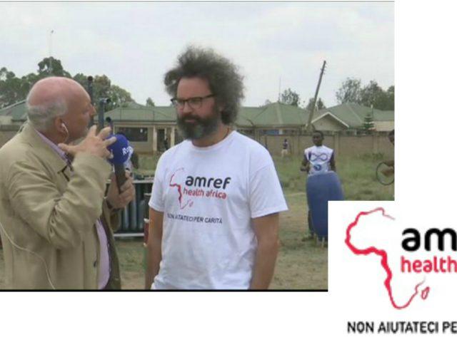 Simone Cristicchi sino al 22 Settembre in visita in Kenya, sui progetti di Amref