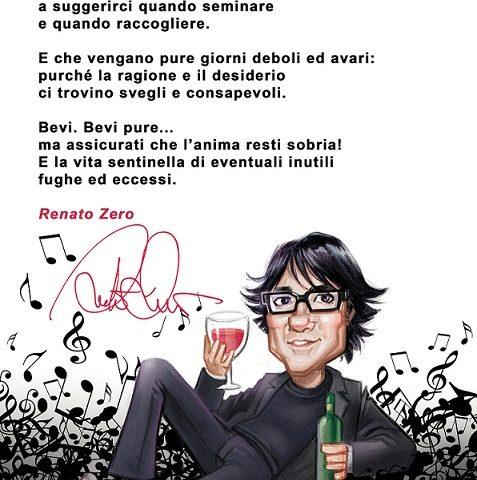 Renato Zero scrive il manifesto per le Testedialkol