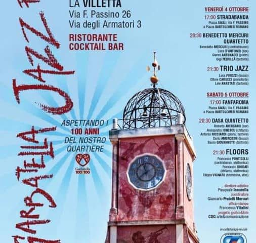 Garbatella Jazz Festival 2019 dal 3 al 5 ottobre con Go-Dex Quartet, Trio Jazz e Floors