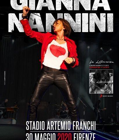 Gianna Nannini, un concerto evento allo stadio Franchi di Firenze