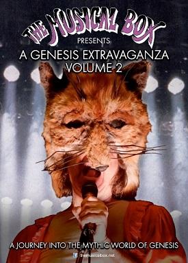 The Musical Box, sei live a novembre