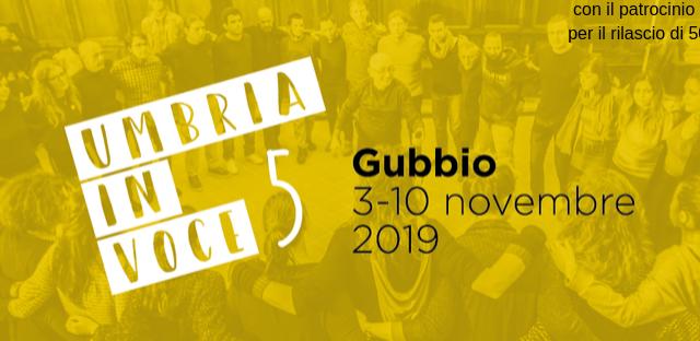 Torna a Gubbio dal 3 al 10 Novembre il festival Umbria in Voce, ricordando il 40esimo della scomparsa di Demetrio Stratos