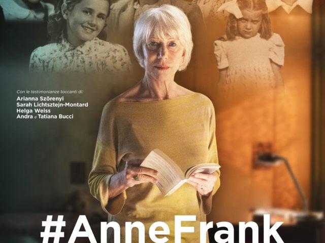 Anne Frank. Vite parallele al cinema dall'11 al 13 novembre con la violinista Francesca Dego