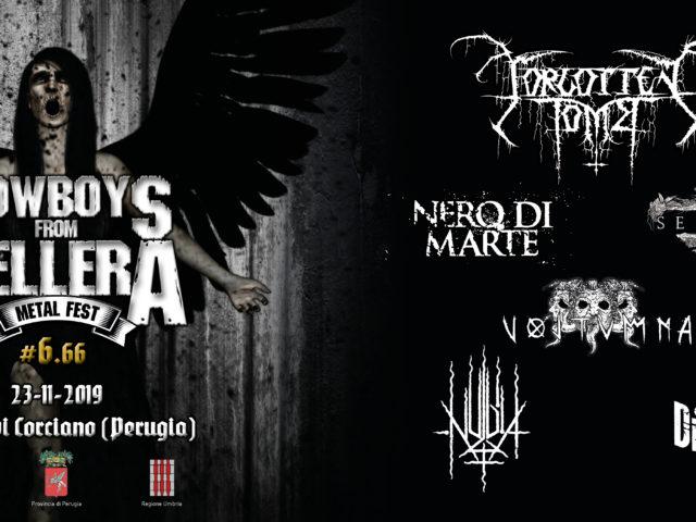 Il 23 Novembre nella perugina Ellera di Corciano una maratona di rock cowboys e gruppi metal