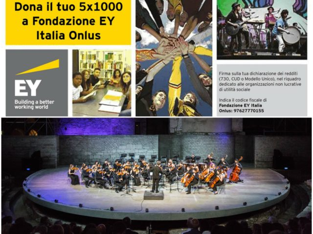 Concerto sinfonico della Young Talents Orchestra EY a Milano per Lunedì 25 Novembre