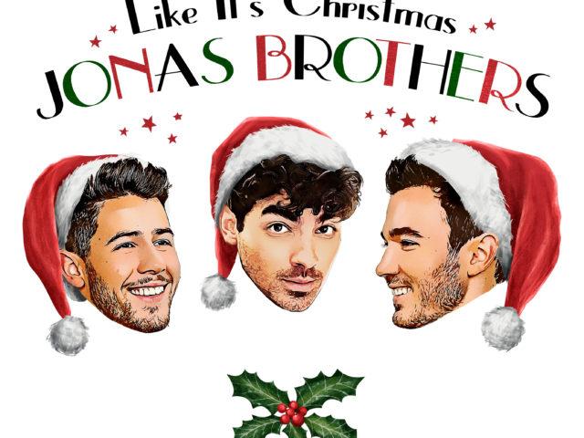 Esce oggi il nuovo singolo dei Jonas Brothers intitolato Like It's Christmas