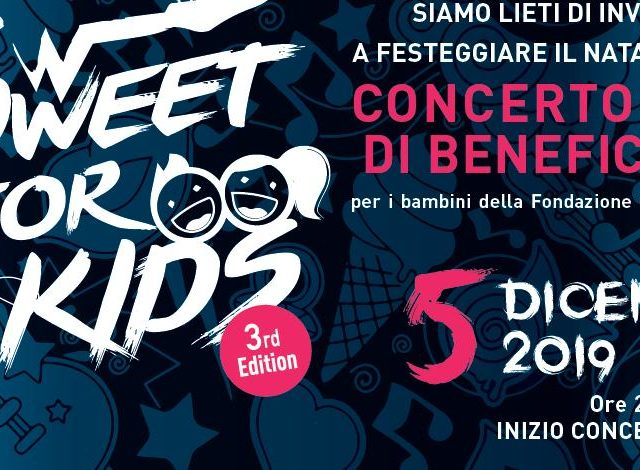 Sweet for Kids, benefit rock show a favore della Fondazione Don Gino Rigoldi