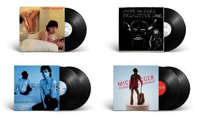 Mick Jagger, in vinile la discografia solista