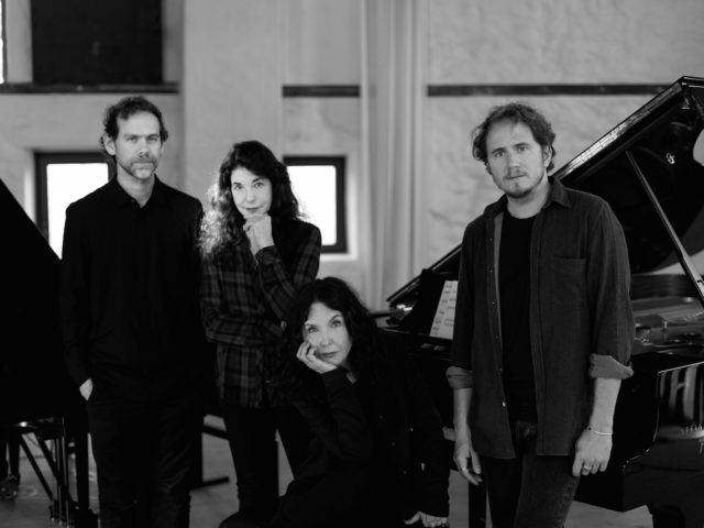 Le sorelle Labèque con Bryce Dessner (The National) il 10 novembre all'Auditorium di Roma