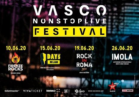 Vasco Rossi, nel 2020 4 imperdibili concerti