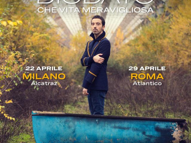Con un sound dinamico e mai prevedibile, Diodato pubblica un nuovo singolo ed annuncia due concerti ad Aprile