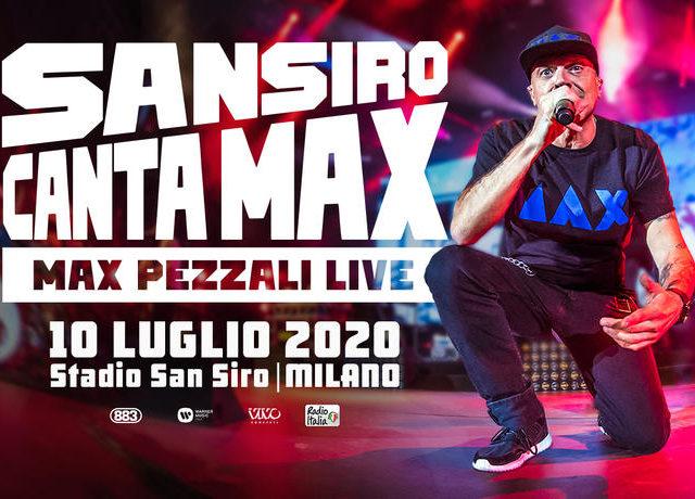 10 Luglio 2020: la gran festa di Max Pezzali nel suo San Siro….