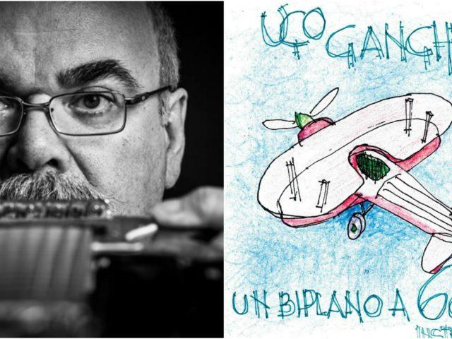 Ugo Gangheri – Un biplano a 6 corde  (Kammermuzak Soccangeles cd 2019) musica per un tempo sospeso e per colorare i bi-sogni