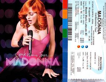 Madonna, Confessions Tour – 6 agosto 2006: 70.000 fans si confessano all'Olimpico di Roma!