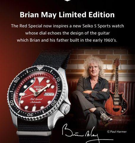 La chitarra Red Special di Brian May ispira un serie limitata di orologi