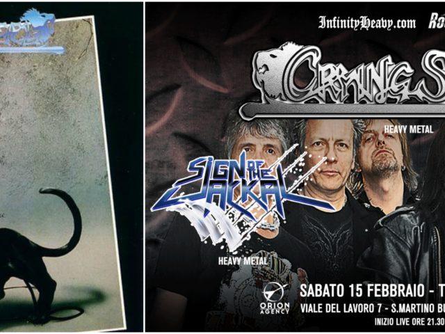 New Wave Of Italian Heavy Metal: protagonisti i Crying Steel, in concerto il 15 Febbraio per prepararsi ai loro primi 40 anni d'attività ..