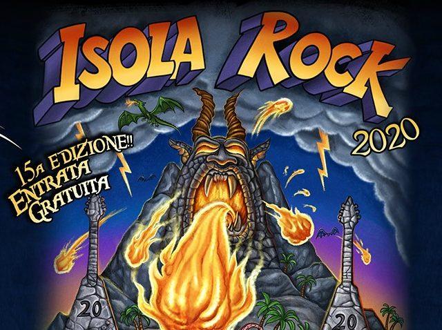 Il festival Isola Rock si terrà l'8 e il 9 Maggio 2020
