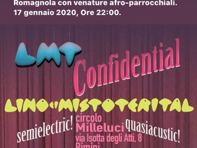 Lino e i Mistoterital in versione intima a Rimini