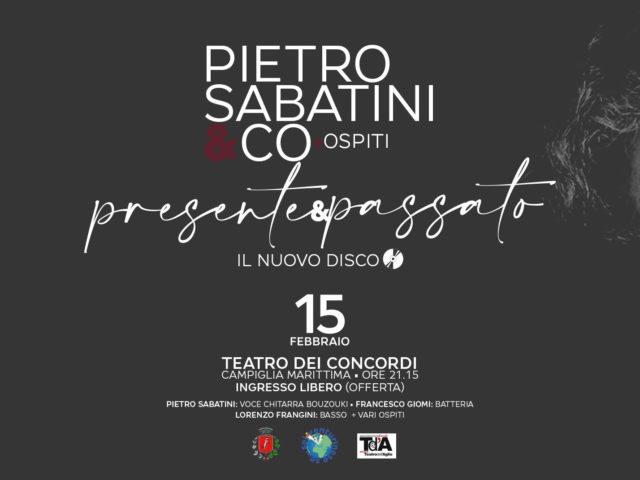 Il blues rock politico di Pietro Sabatini il 15 Febbraio a Campiglia Marittima ..