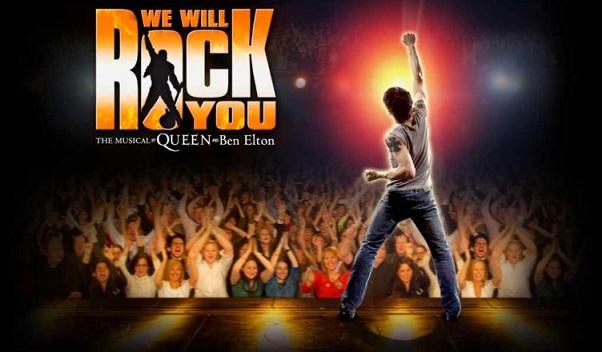 Queen, a Roma il ritorno del musical We Will Rock You