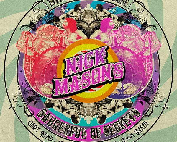 Il 17 Aprile esce Live At The Roundhouse, concerto tenuto da Nick Mason, batterista storico dei Pink Floyd