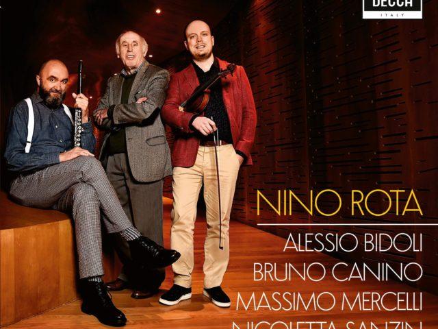 Il violinista Alessio Bidoli omaggia Nino Rota con un album