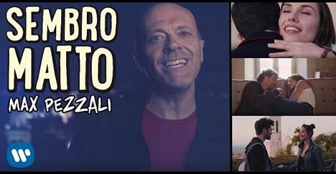 Max Pezzali, online il video di Sembro Matto