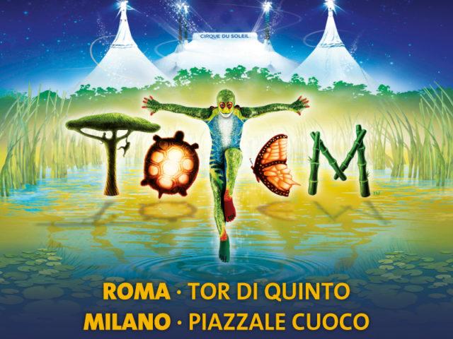 "Cirque du soleil ""Totem""- Rimandate le tappe di Roma e Milano"