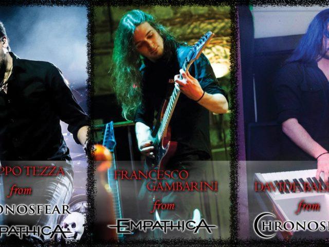 L'omaggio (tra power prog e symphonic metal) ai Stratovarius di Black Diamond da parte delle band italiane Empathica e Chronosfear