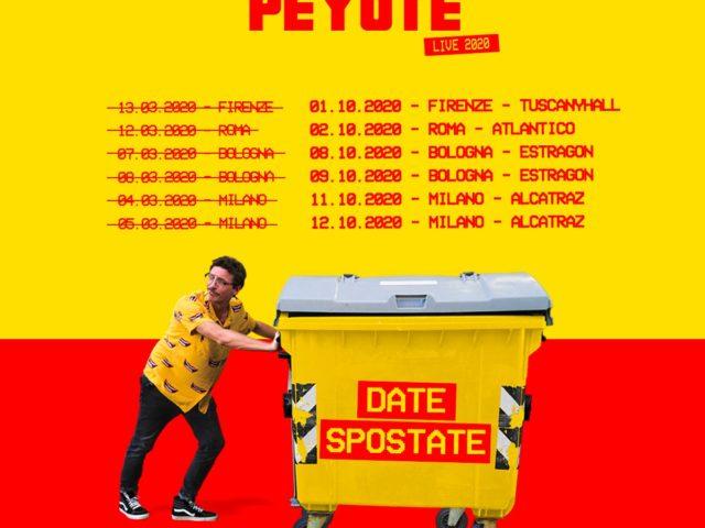 I concerti sold out di Willie Peyote spostati di nuovo: ora sono ad Ottobre …