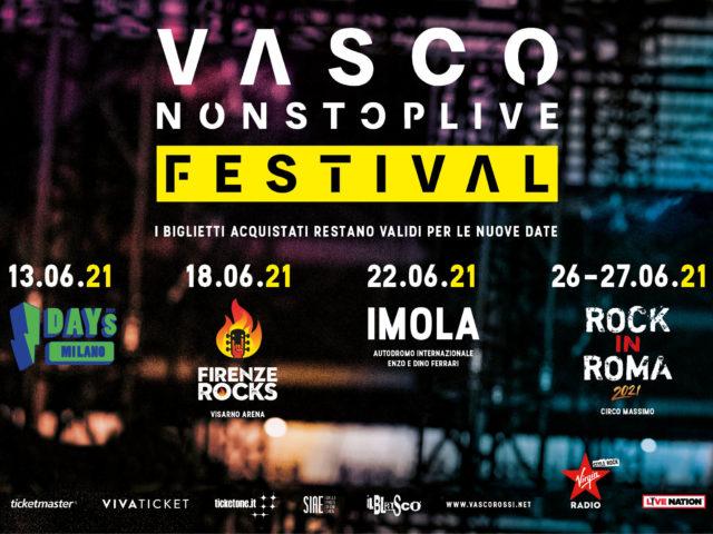 Vasco Rossi rinvia tutti i concerti al 2021