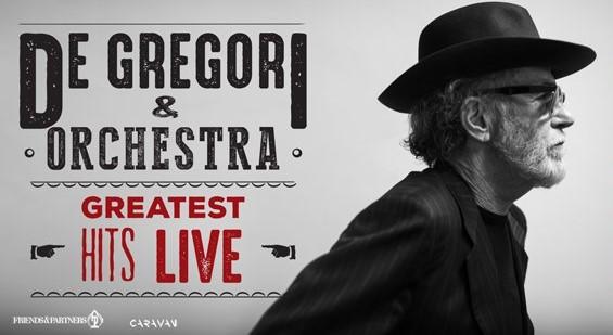 De Gregori & Orchestra – Greatest Hits Live al via l'11 e 12 giugno dalle Terme di Caracalla