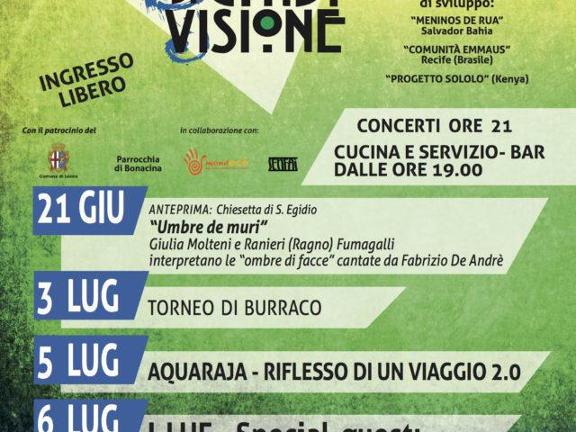 A Lecco la XXIesima edizione del Festival Note di Condivisione, da I Luf a Davide Van De Sfroos