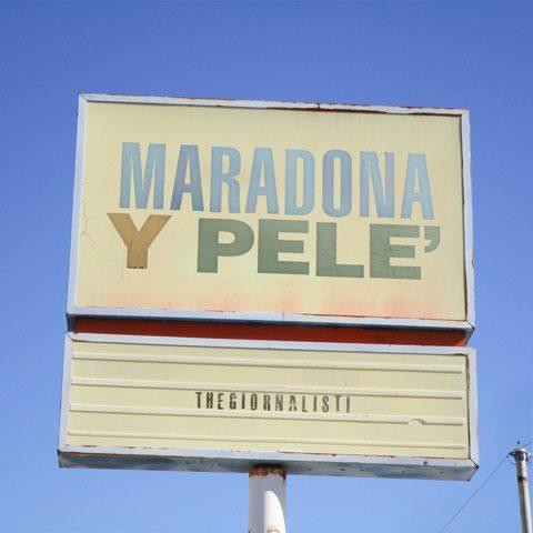 Thegiornalisti, il nuovo singolo è Maradona y Pelè