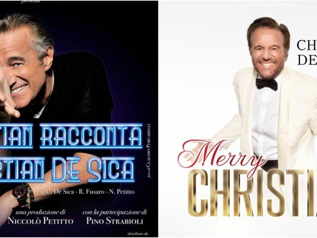 Christian De Sica ed il suo swing teatrale: si aggiungono due date al tour e questa volta a Roma…