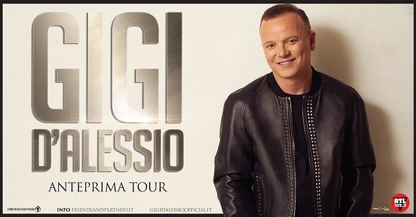 Gigi D'Alessio, due eventi speciali il 20 e 24 gennaio 2020